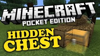 ✔ Hidden Chest Trick - Minecraft PE 0.14.1 [MCPE]