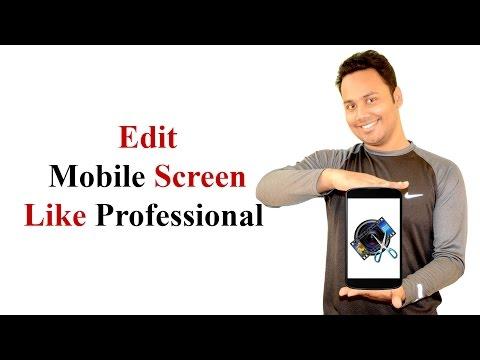 How To Record And Edit Mobile Screen Like Professional - Hindi / Urdu [Billi4You]