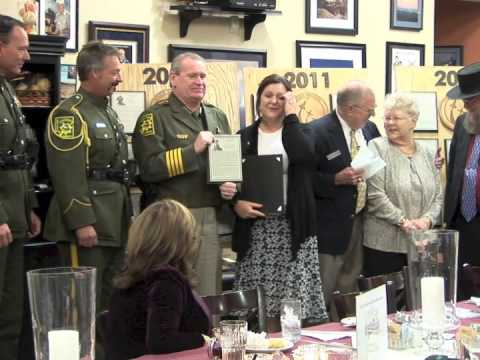 NVAHOF Induction Ceremony  Nov. 7, 2012 Part 4: Jess Harris