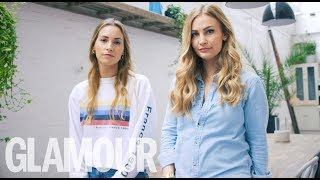 Hey It's OK... To Talk About Eating Disorders | With Anna Saccone And Cat Meffan | GLAMOUR UK
