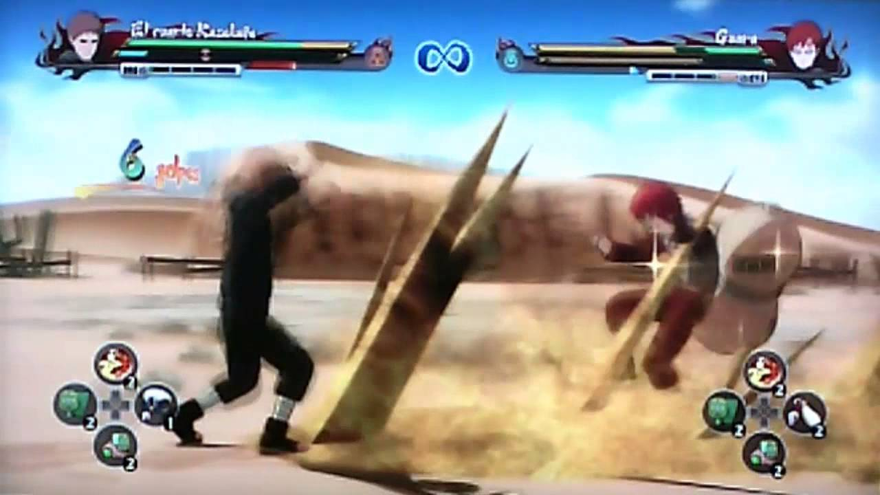 Naruto shippuden ultimate ninja storm revolution cuarto for Cuarto kazekage muerte