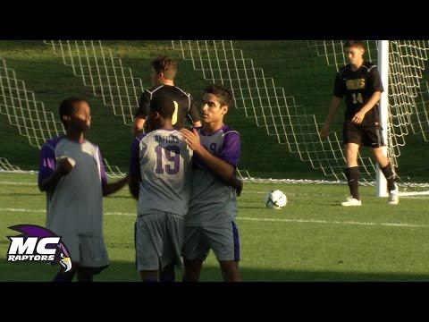 Montgomery College Raptors vs. CSM Hawks: NJCAA Men's Soccer, 9/16/14