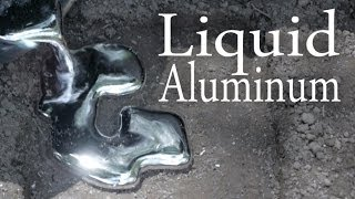 How To Melt Aluminum With A Hole In The Ground