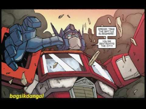 IDW:Autobots Vs Decepticons!Battle in New York!+TF Comic Review!