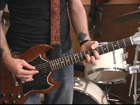 how to play hells bells solo on guitar