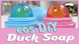 eos DiY Entchen Seife / How to make cute duck soap