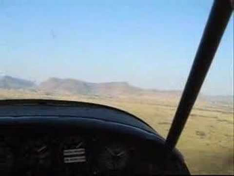 Take Off from Alpine Texas Airport