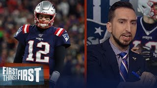 Patriots failure to secure a bye falls on Tom Brady — Nick Wright | NFL | FIRST THINGS FIRST