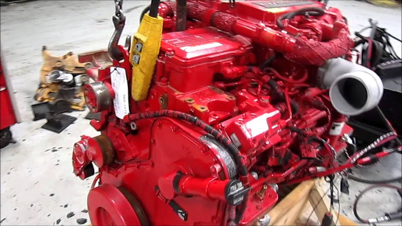 Cummins Diesel Engines >> 2010 Cummins ISL Diesel Engine Running - YouTube