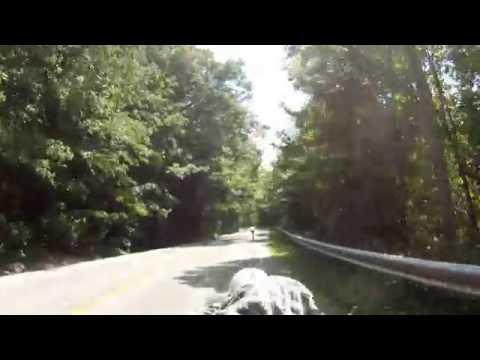 Longboaring Snake Road