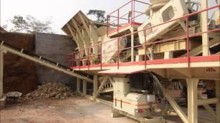 AMC 100TPH SEMI-FIXED CRUSHING PLANT