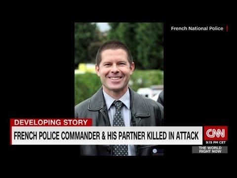 Police commander killed in France terror attack