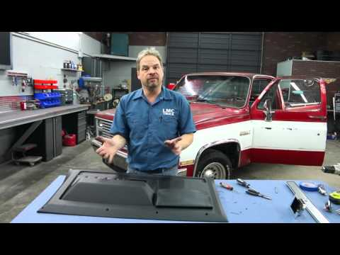 LMC Truck: 1981-87 Chevy/GMC Truck Door Panel Installation with Kevin Tetz