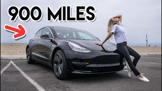 Taking A Tesla Model 3 On A 900 MILE Road Trip