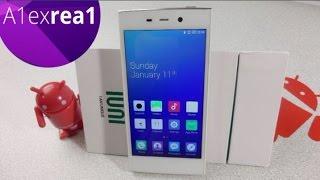 IUNI U2 маленький да удаленький, Snapdragon 800, 3GB Ram, 32 Rom, первый взгляд на смартфон