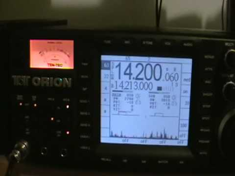 Ham Radio - K4M - Midway -20mt_ssb ten tec orion