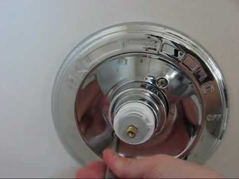 How to Fix a Leaking Delta 1400 Series Tub / Shower Faucet by Replacing the Cartridge
