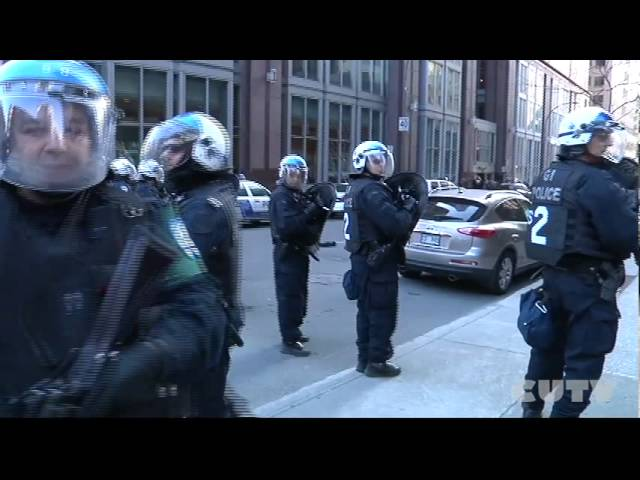 CUTVnews - Manif-Action Montreal April 19th 2012