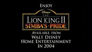 Restored Trailer for THE LION KING 2.