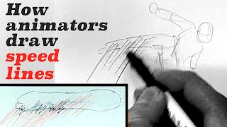 How to Draw Motion Blur - Using Speed Lines!?Japanese anime & Manga