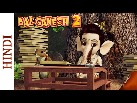 Bal Ganesh 2 - Mooshak Starts Learning - Hindi Mythological...