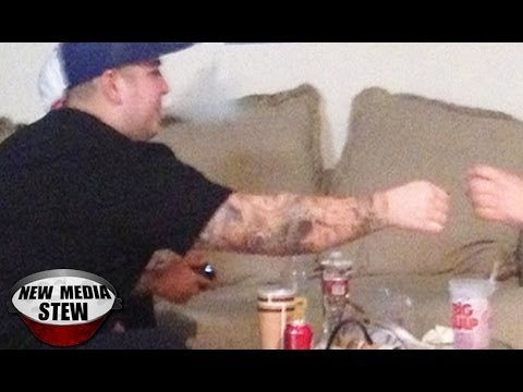 ROB KARDASHIAN Smoking Weed & Drinking Sizzurp, Family Wants Rehab