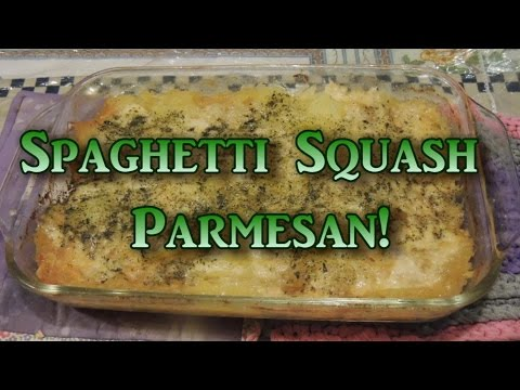 Spaghetti Squash Parmesan!