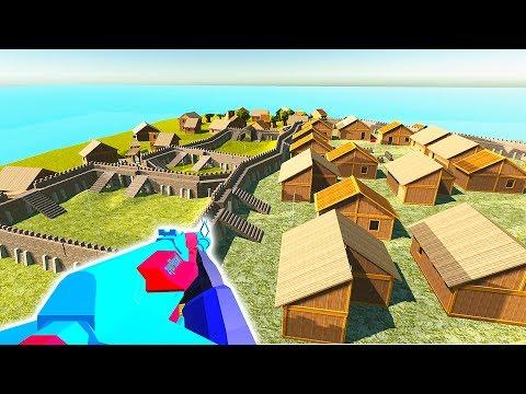 НЕПРИСТУПНАЯ КРЕПОСТЬ - Игра Ravenfield для мальчиков  РЕВЕНФИЛД  Игры для слабых пк