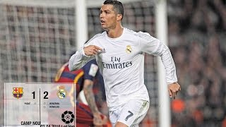 Barcelona 1-2 Real Madrid (La Liga 2015/16, matchday 31)