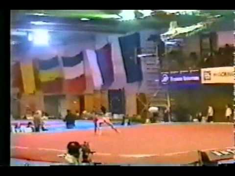 Yulia Korostelyova - 1995 Junior European Team Championship - Floor Exercise