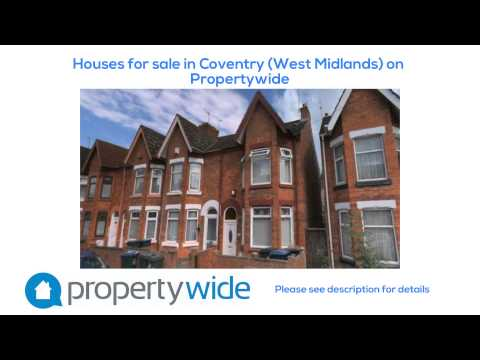 Houses for sale in Coventry (West Midlands) on Propertywide