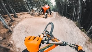 POV Run in Whistler with Remy Metailler & Tomas Lemoine