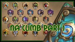 Hearthstone: NA climb part 1 (quest rogue)