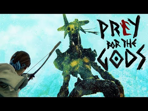 One Brave Woman Battles 200ft Colossus Monsters - Praey For The Gods Gameplay Highlights Part 1