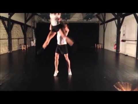 Современная хореография, красивый танец