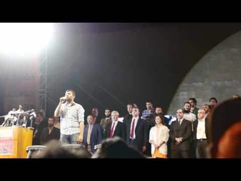 Hamza Namirah Sings Egypt's National Anthem النشيد الوطنى بصوت حمزة نميرة video
