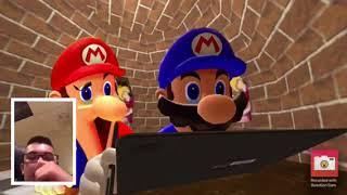 SMG4: Stupid Mario Paint REACTION!
