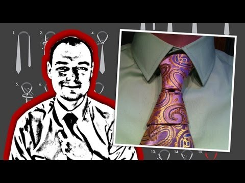 How to Tie a Krasny Hourglass Knot