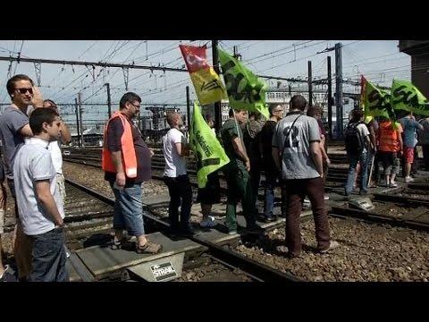 Grève SNCF: le bras de fer continue - 13/06