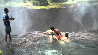 I Survived Devil's Pool Victoria Falls ZAMBIA