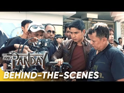 See Coco Martin in directing action in 'Ang Panday' BTS