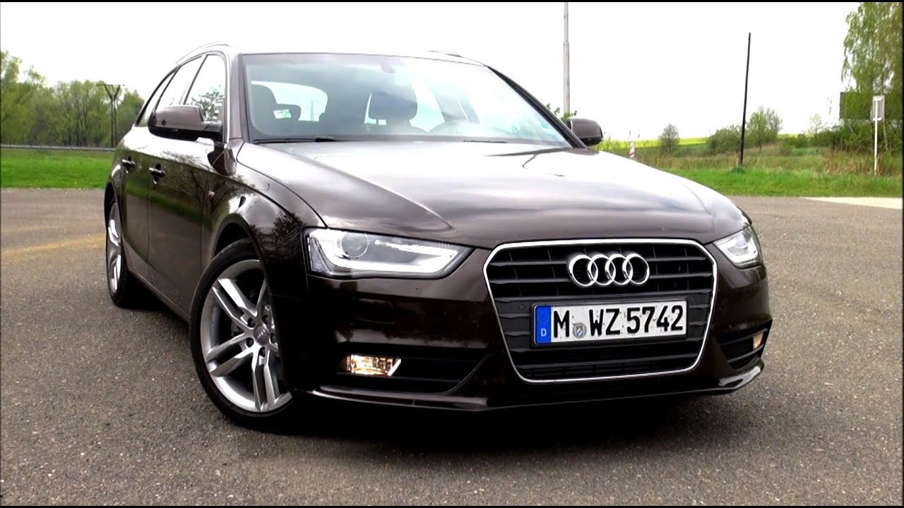2014 audi a4 avant 2 0 tdi ultra b8 s line facelift 190 hp test drive youtube. Black Bedroom Furniture Sets. Home Design Ideas