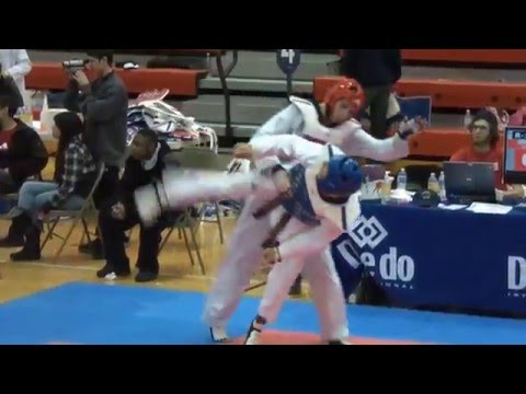 Taekwondo WTF 2012 Knockouts and Highlights: Hayk Amirbekyan