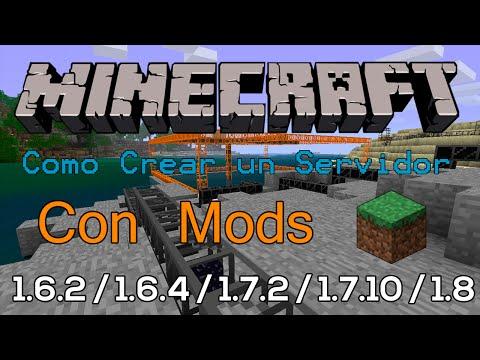 Minecraft 1.6.2 / 1.8.0   Como Crear Un Servidor Con Mods   Español