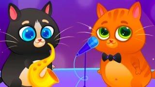 КОТЕНОК БУБУ #23 - ДЕТСКАЯ ПЕСНЯ КОТИКА - Bubbu My Virtual Pet игровой мультик для детей #ПУРУМЧАТА