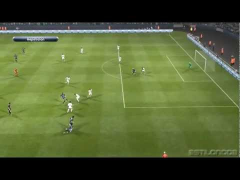 Tottenham vs Inter Milan 3-0 Thursday 07-03-13 Europa League | Pes 2013