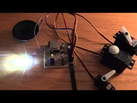 Star Wars ESB Probe Droid Model - Light And Sound Kit, Rev 2.0