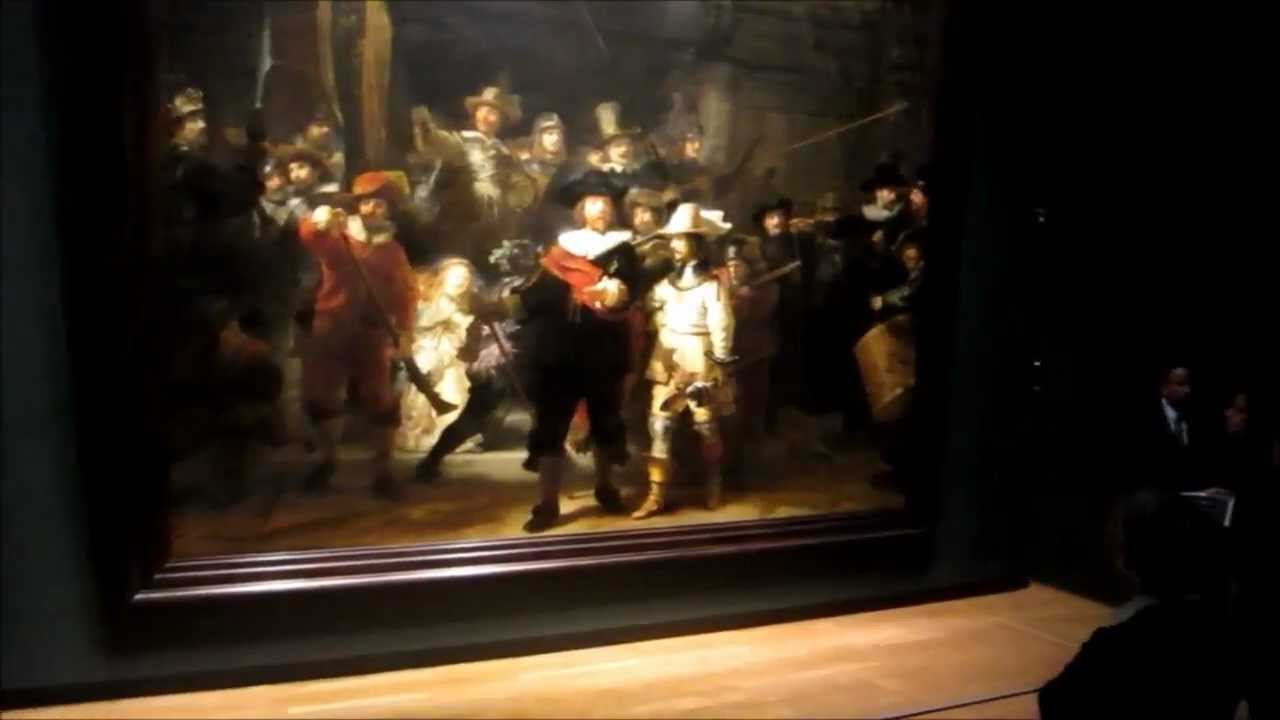 Old Wing Rembrandt The Night Watch Painting In The