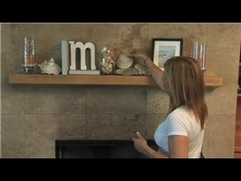 Home decorating how to decorate a fireplace mantle for for Home decorations video