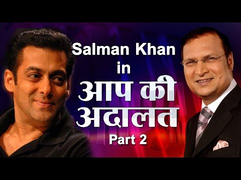 Salman Khan in Aap Ki Adalat - Part 2